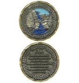 Symbol Arts Serenity Prayer Challenge Coin Token