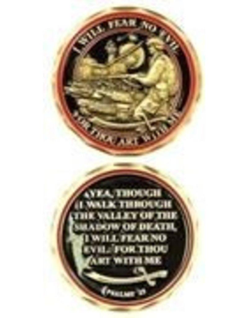 Symbol Arts Fear No Evil Challenge Coin Token