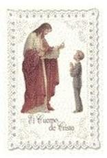 WJ Hirten LACE HOLY CARD - SPANISH BOY CO
