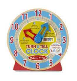 Melissa & Doug Turn & Tell Clock Turn & Tell Clock
