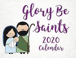 Our Sunday Visitor 2020 Glory Be Saints Calendar
