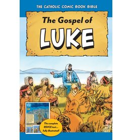 Tan Books Catholic Comic Book Bible: Gospel of Luke