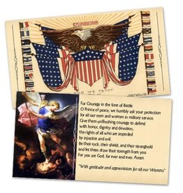 Full of Grace USA In God We Trust to Save America Holy Cards