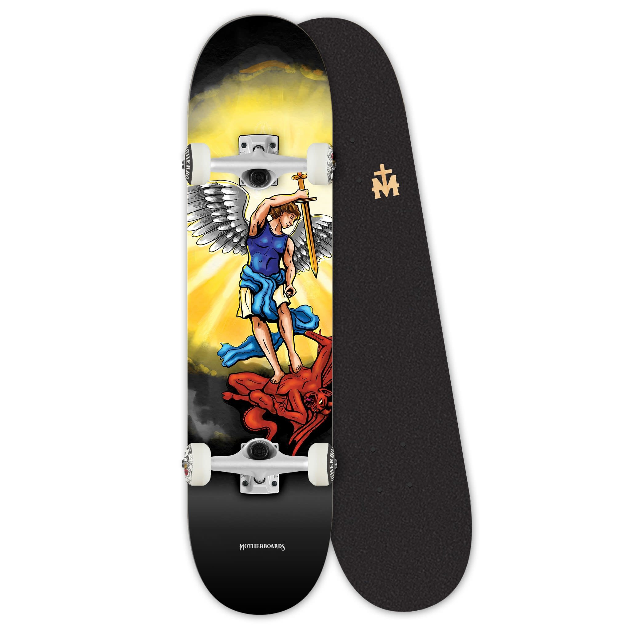 Motherboards St. Michael the Archangel PREMIUM Complete Skateboard