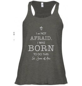 Pio Prints I Was Born to Do This, St. Joan of Arc, Tank (Large)