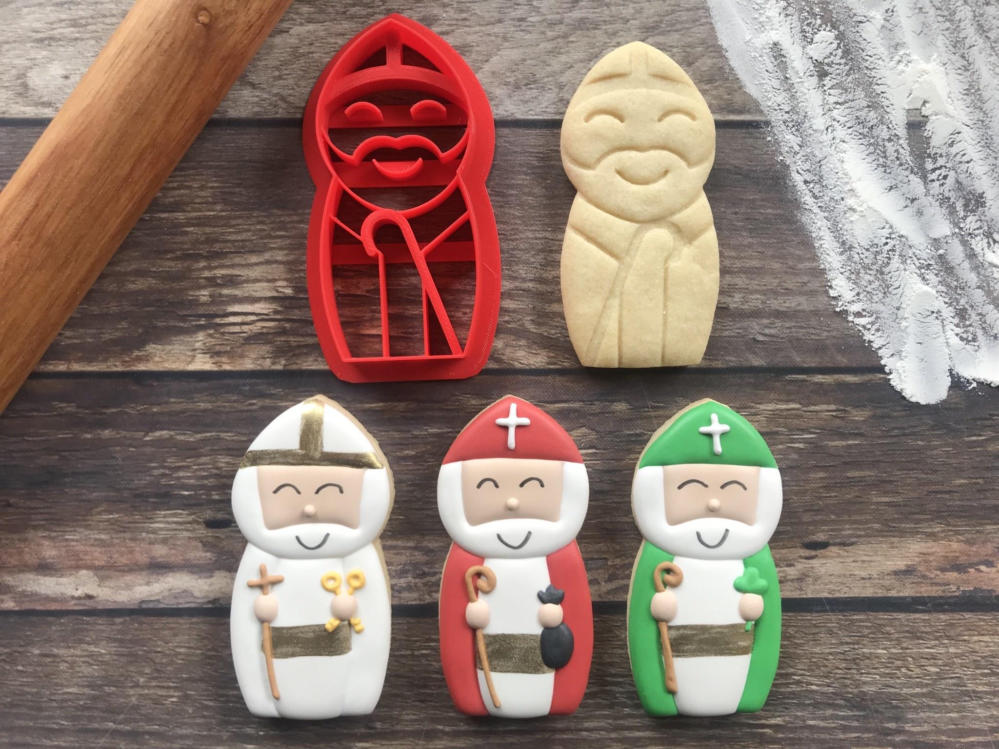 Catholic Curio Bishop Cookie Cutter