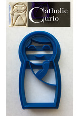 Catholic Curio Mary and Babe Cookie Cutter