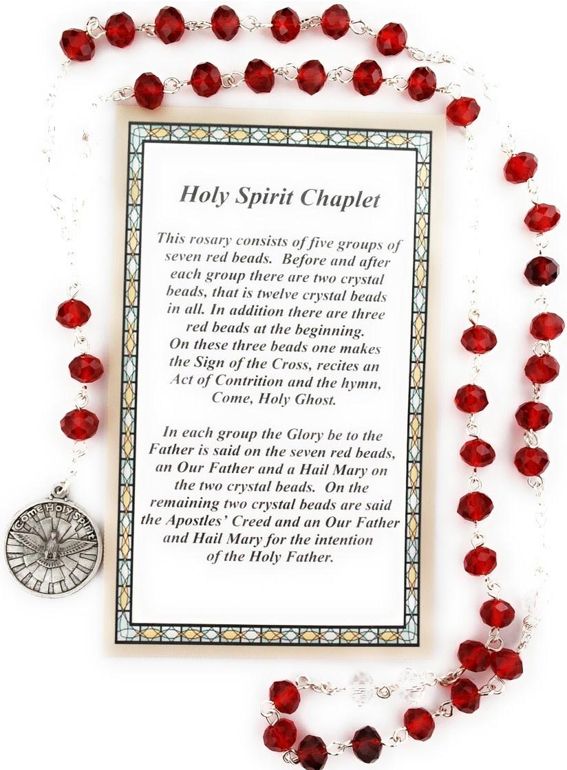 McVan Holy Spirit Chaplet with Card