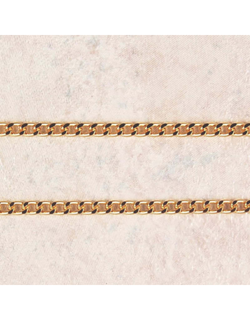 """McVan 24"""" Heavy Gold Plated Endless Chain"""