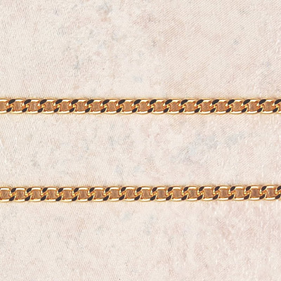 "McVan 24"" Heavy Gold Plated Endless Chain"
