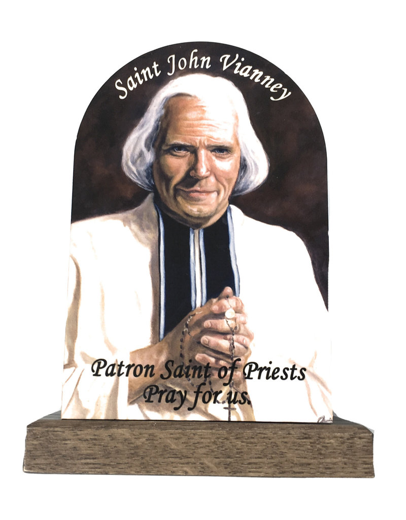Nelsons Fine Art and Gifts John Vianney Plaque