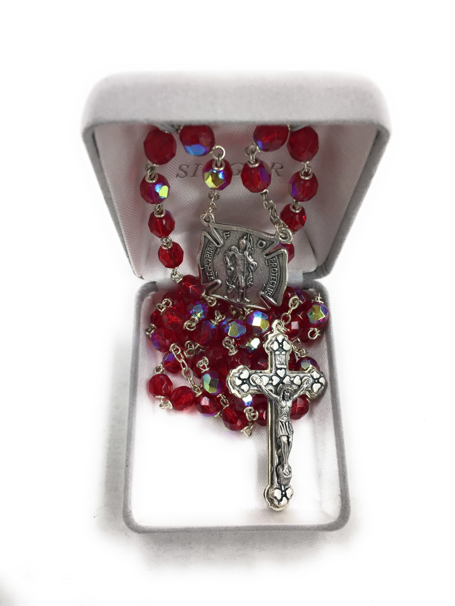 Singer Ruby Crystal Firefighter Rosary