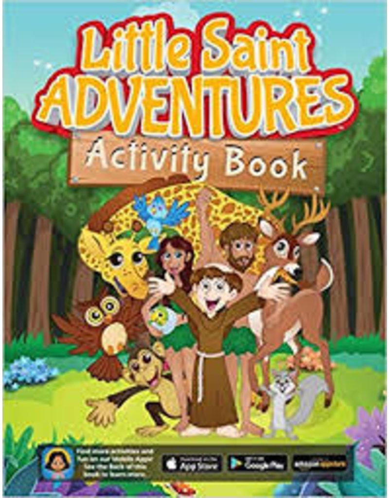 Sophia Institute Press Little Saint Adventures Activity Book