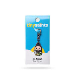 Spiritus Tiny Saints Charm Saint Joseph
