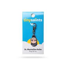 Spiritus Tiny Saints Charm Saint Maximilian Kolbe