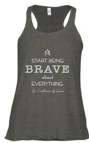 Pio Prints Start Being Brave Tank (Small)