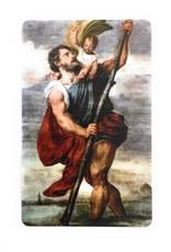 Memorare Gifts St. Christopher Prayer Card