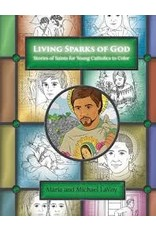 Our Sunday Visitor Living Sparks of God: Stories of Saints for Young Catholics to Color