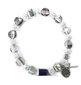 Moshy Brothers, Inc Rainbow Bead Bracelet