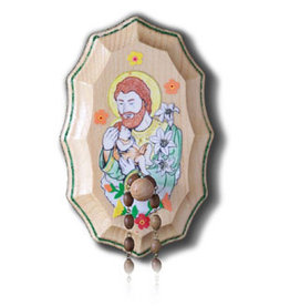 Illuminated Ink St. Joseph Wooden Rosary Holder Kit