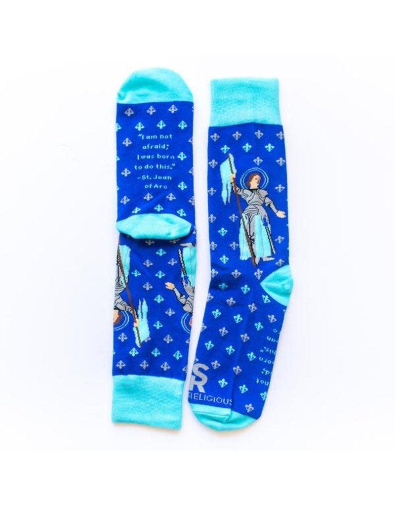 Sock Religious Sock Religious St. Joan of Arc