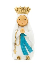 Little Drops of Water Little Drops of Water: Our Lady of Lourdes Statue With Crown