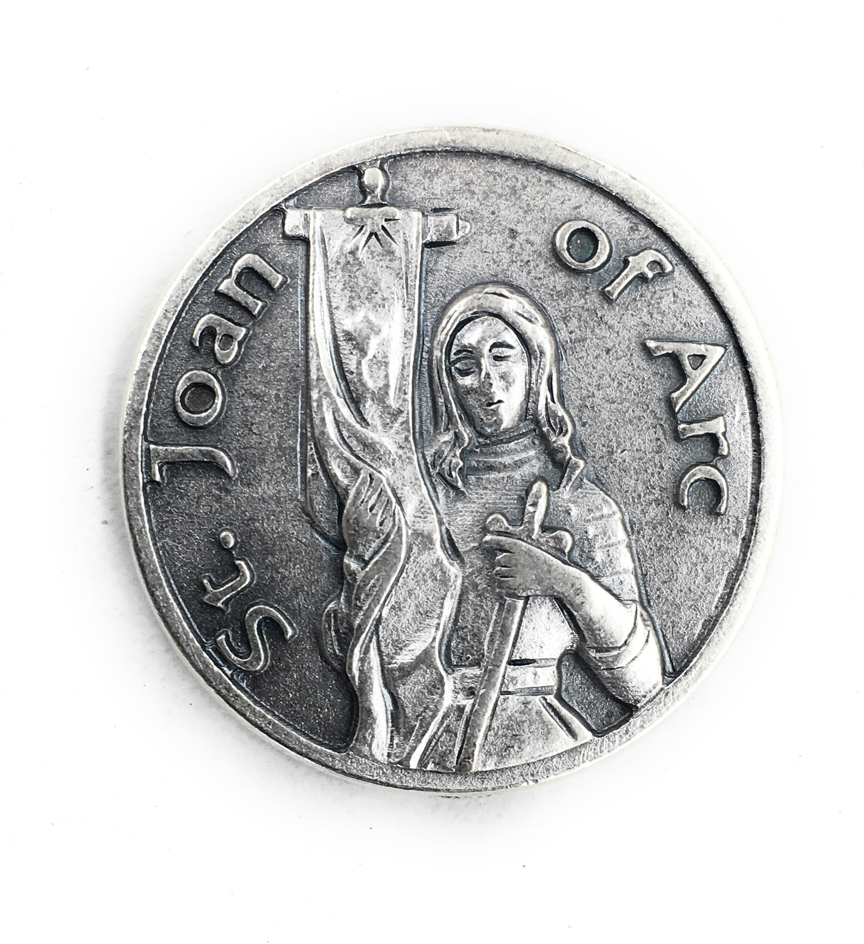 Lumen Mundi St. Joan of Arc Pocket Token