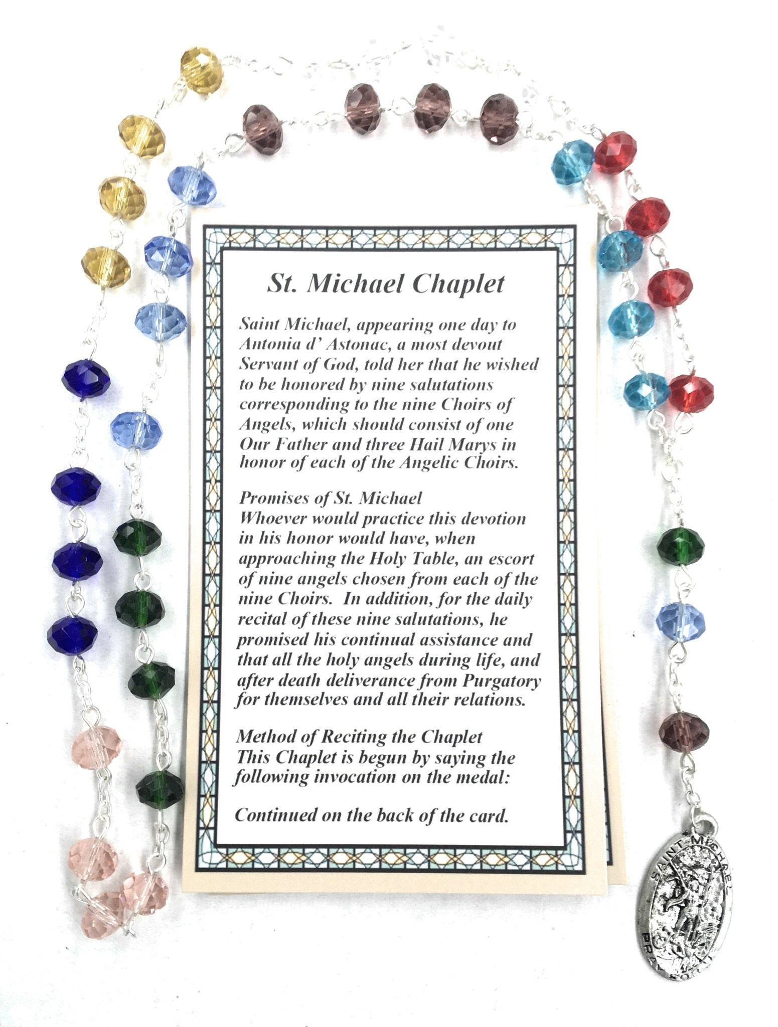 McVan St. Michael Chaplet