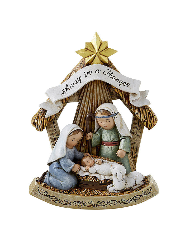 "Christian Brands Away in a Manger 5"" Nativity Scene Figure"