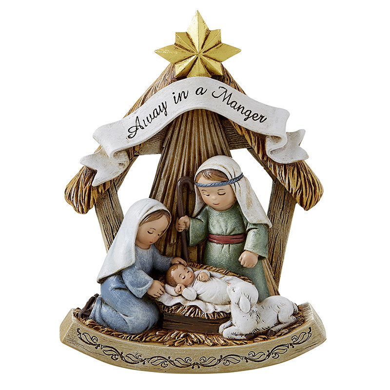 "Christian Brands Away in a Manger 5"" Nativity Scene Figure"