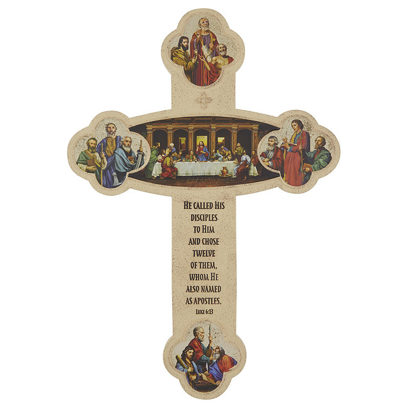"Christian Brands Apostles Cross - 12"""