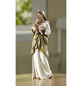 "Christian Brands Adams 7"" Divine Innocence  Figurine Mary, Jesus and the Lamb"