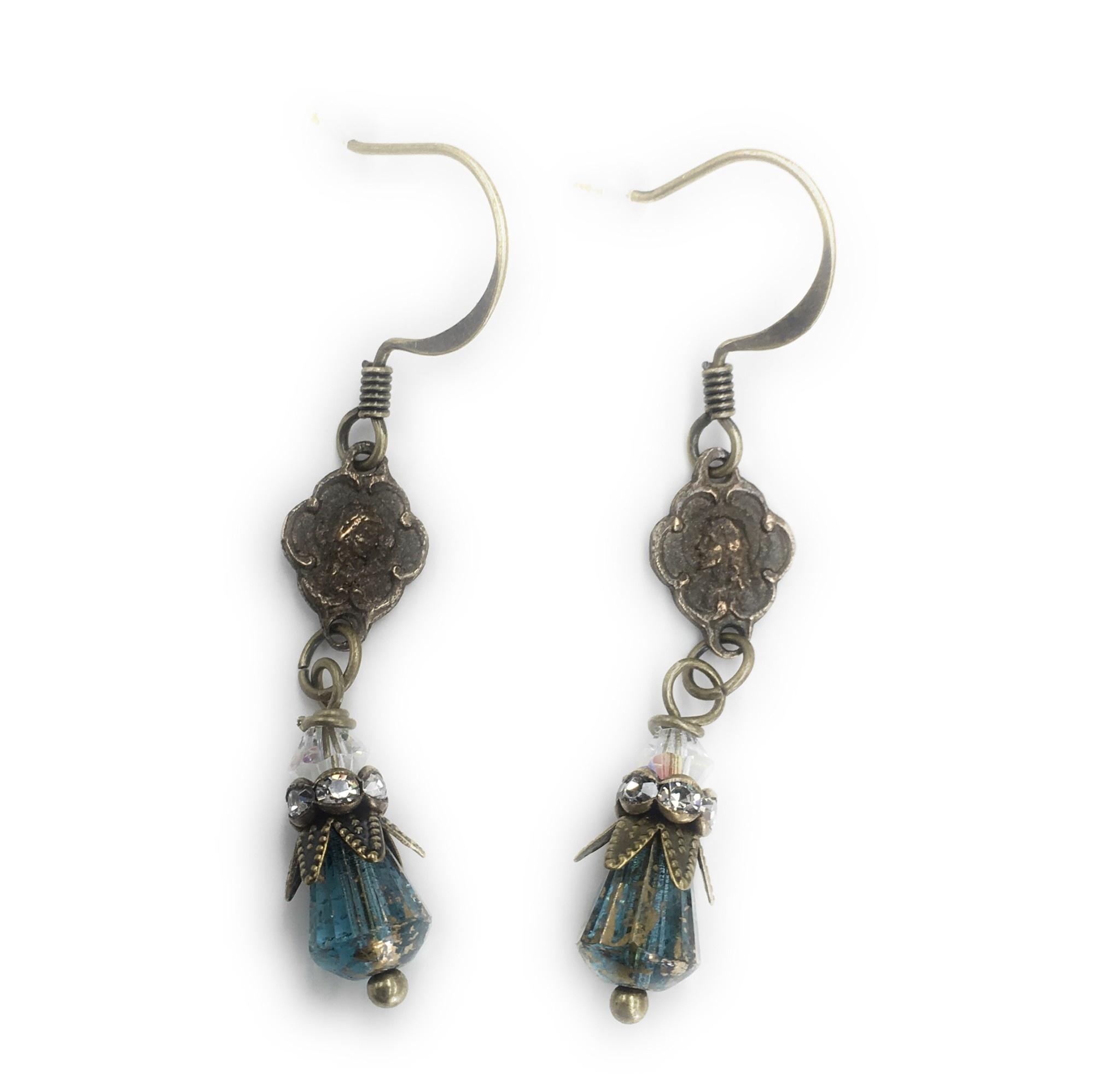 Gail's Design Vintage Mary Earrings