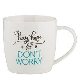Christian Brands Every Day Grace Pray, Hope, and Don't worry Cafe Mug