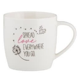 Christian Brands Every Day Grace Spread Love Everywhere you go Cafe Mug