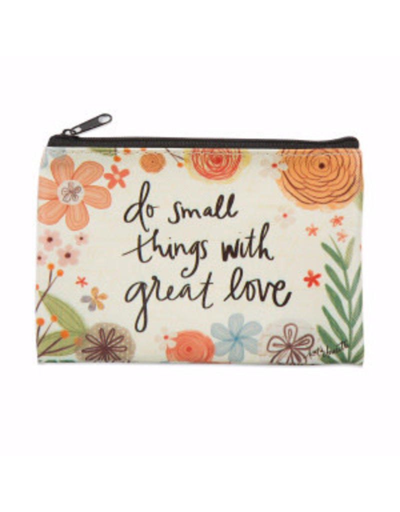 BrownlowGift Coin Purse-Do Small Things (6 x 4.25)