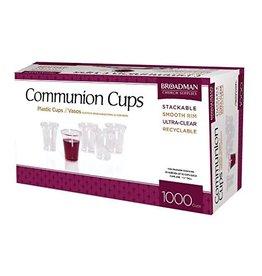 Broadman Church Supplies Box of 1,000 Plastic Communion Cups