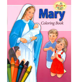 Spring Arbor Mary Coloring Book