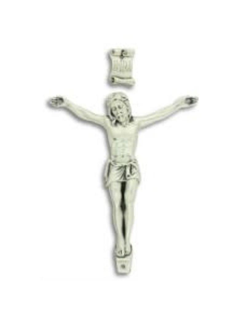 "Gifts Catholic Silver Oxidized Corpus 3-3/4"" (9.5 CM)"