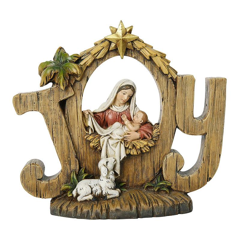 Christian Brands Christmas Joy Nativity Figurine