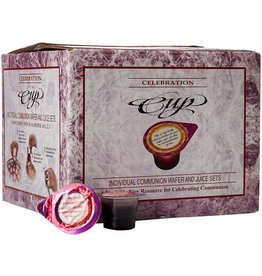 Celebration Cup Individual Communion Wafer and Juice Sets