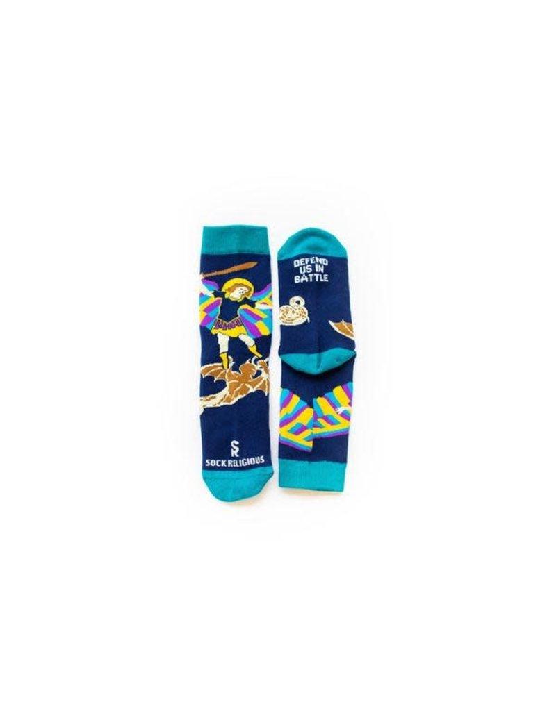 Sock Religious St Michael Kids Socks