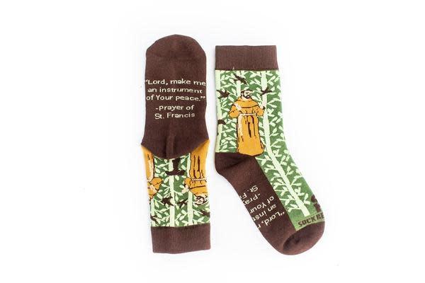 Sock Religious St. Francis of Assisi Kids Socks