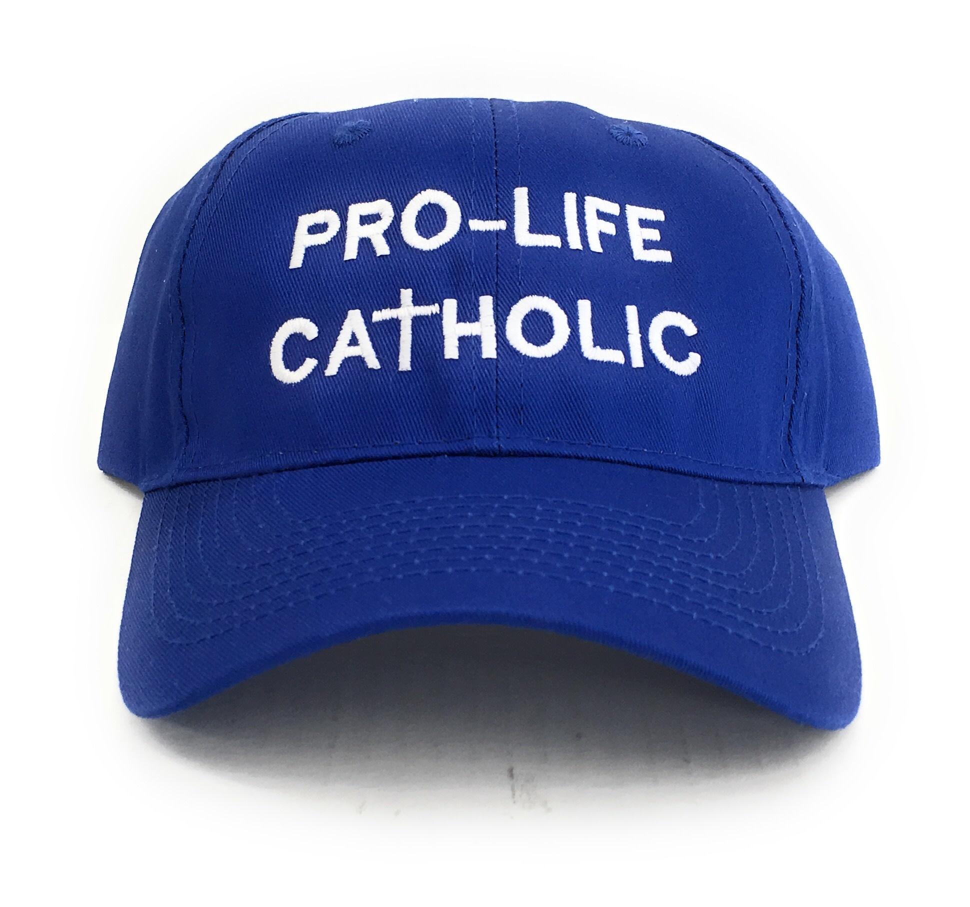 Simply Catholic Blue Pro-Life Catholic Patriot Hat