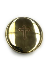 Religious Art Inc Brass Cross Pyx