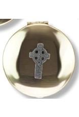 Religious Art Inc Brass Celtic Cross Pyx