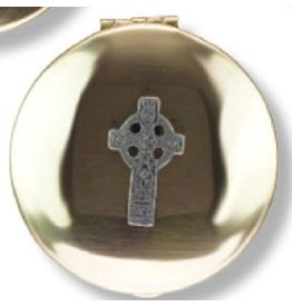 Religious Art Inc Brass Celtic Cross Pyx