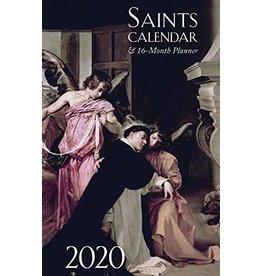 Tan Books 2020 Saints Calendar & 16 Month Planner