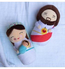 Shining Light Dolls Blessed Virgin Mary, Mother of God Plush Doll