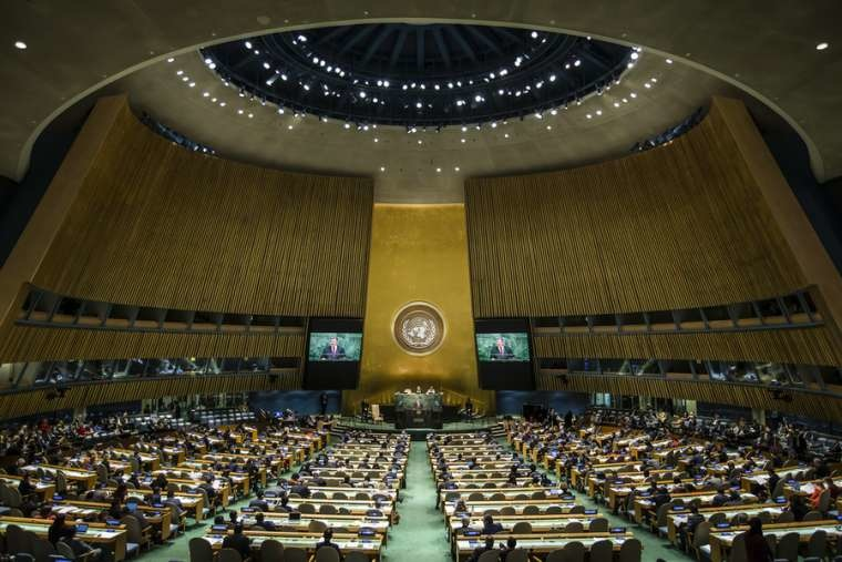 Holy See and Trump administration oppose abortion at UN General Assembly